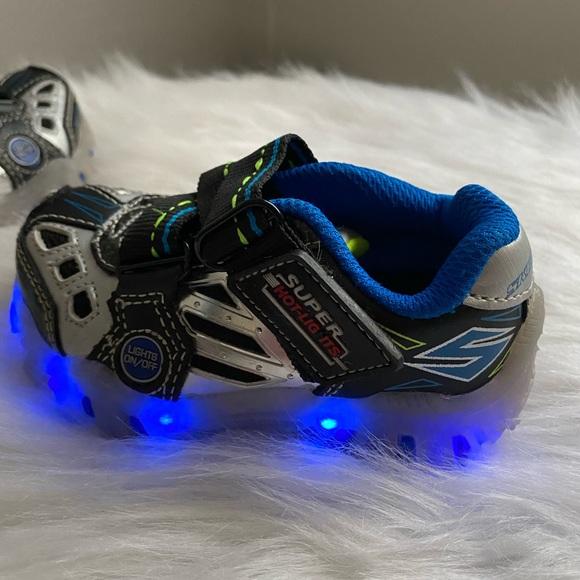 Skechers Shoes   Super Hot Lights Baby